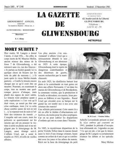 Gazette Gliwensbourg (2)