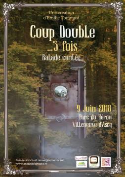Affiche Coup Double 2018